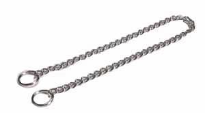 Halsbånd og tilbehør af metal