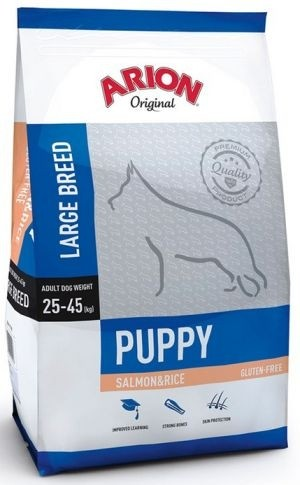 Arion Puppy Large Salmon and Rice-31