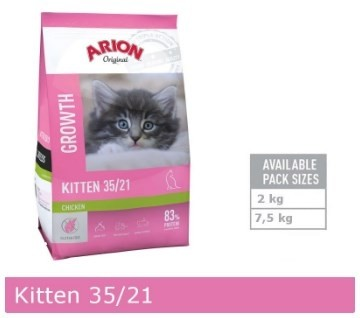 Arion Original Kitten 35/21-31