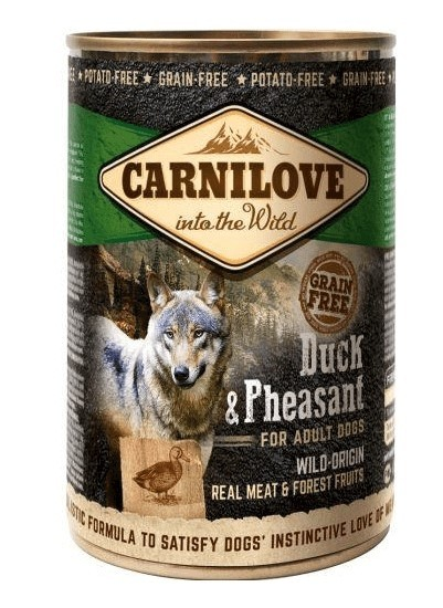 Carnilove Duck and Pheasant 400 g Dåse-32
