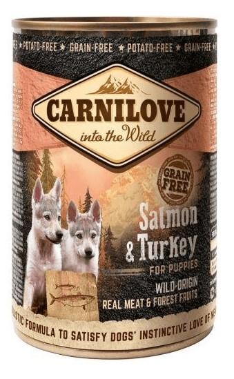 CarniloveSalmonTurkeyPuppies400gDse-32