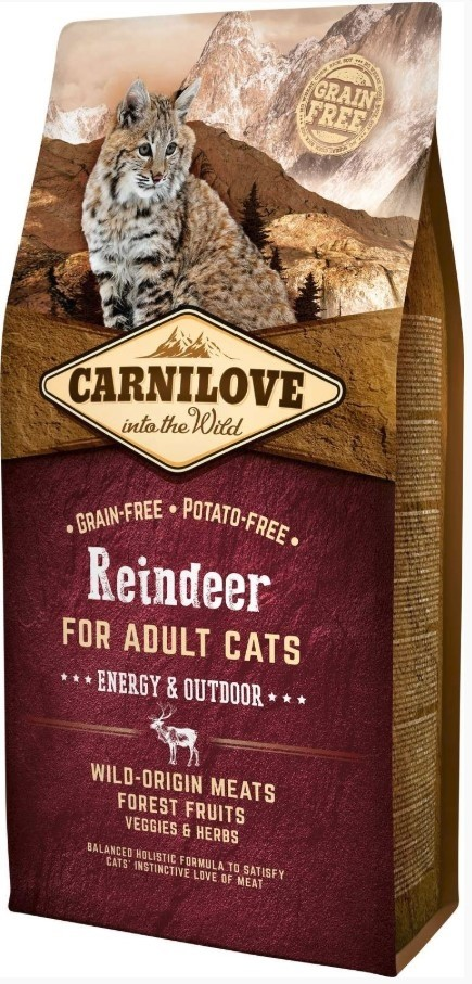 Carnilove Reindeer Adult Cat Energy and Outdoor-32