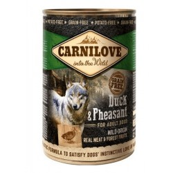 Carnilove Duck and Pheasant 400 g Dåse-20