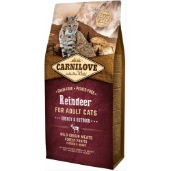 Carnilove Reindeer Adult Cat Energy and Outdoor-20