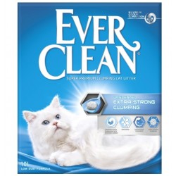 EVER CLEAN Extra Strong Unscented kattegrus 3 x 10 liter-20