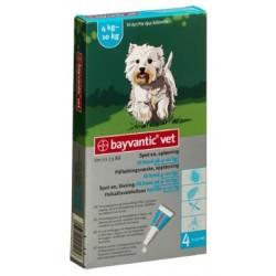 Bayvantic Vet Hund 4 x 1 ml, 4 - 10 kg