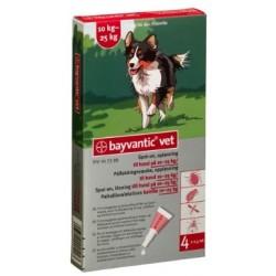 Bayvantic Vet Hund 4 x 2,5 ml, 10 - 25 kg