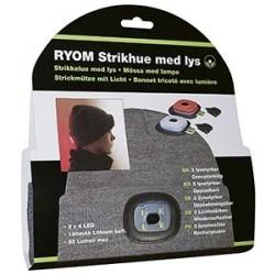 Strikhue m/Genopl. LED for- og baglys