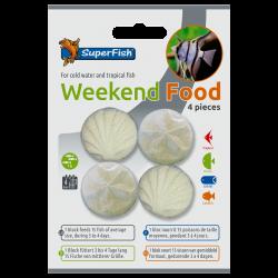 Superfish weekendfoder 4 stk.