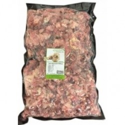 Naturfoder 100% Hestekød løstfrosset 2000 gr.