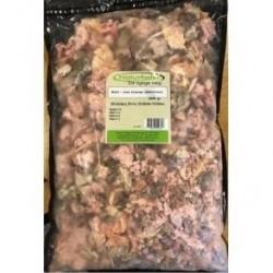 Naturfoder Barf mix energi løsfrosset 2000 gr.