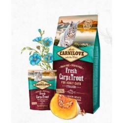 Carnilove Fresh Carp & Trout, Kat