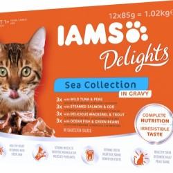 Iams Sea Collection in Gravy 12x85g