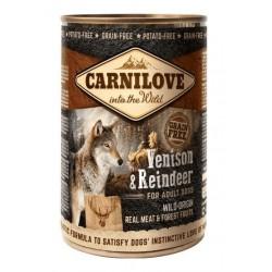 Carnilove Venison & Reindeer 400 g Dåse