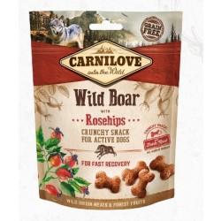 Carnilove Crunchy Wild Boar w/ Rosehips 200g