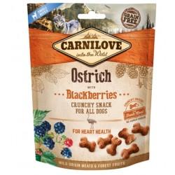 Carnilove Crunchy Ostrich w/ blackberries 200g